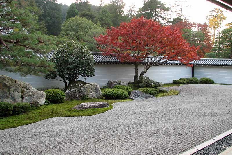 The karesansui garden of nanzen ji kyoto japan - Jardin moderne zen villeurbanne ...