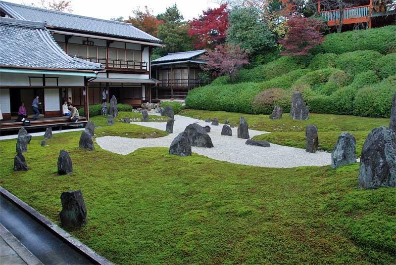 the garden of komyo in 1 kyoto japan. Black Bedroom Furniture Sets. Home Design Ideas