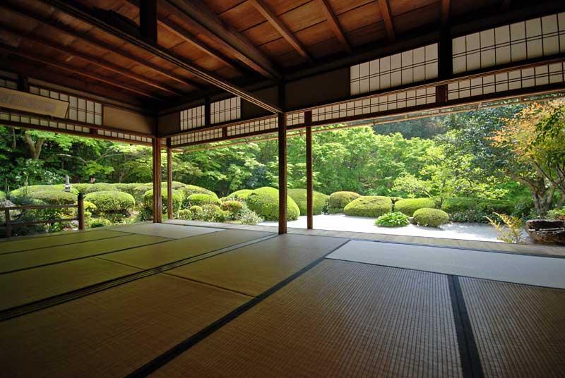 Shoin of Shisen-do temple in Ichijo-ji/Shugaku-in area