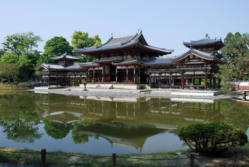 Photo 2 of Hoo-do hall of Byodo-in, Kyoto, Japan